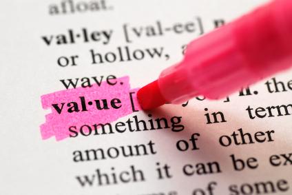 Value image