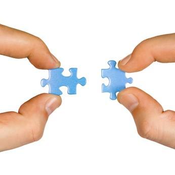Match puzzle pieces