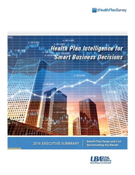 UBA Health Plan Survey Executive Summary