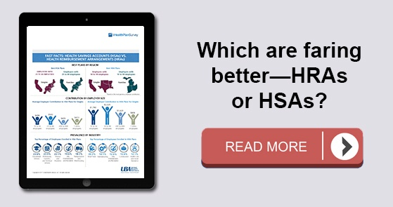 Which are faring better: HRSs or HSAs?