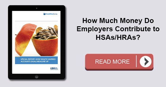 How much money do employers contribute to HSAs?