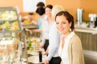 cafeteria line